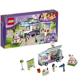 LEGO Friends 41056: Furgoncino della TV di Hearthlake City